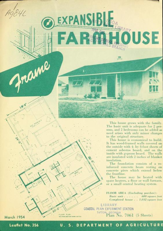 Expansible Farmhouse: Frame