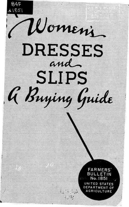 Women's Dresses and Slips: A Buying Guide