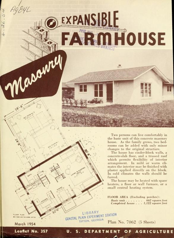 Expansible Farmhouse: Masonry