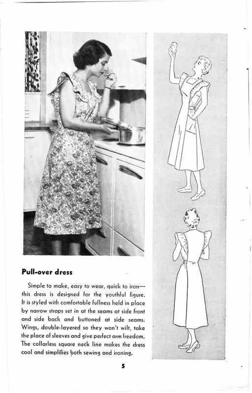 Dresses and Aprons for Work in the Home