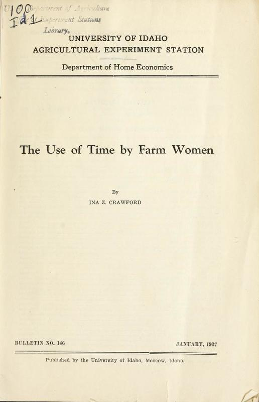 The Use of Time by Farm Women Cover.jpg