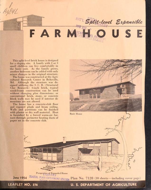 Farmhouse: Split-Level Expansible
