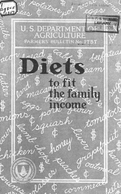 Diets to Fit the Family Income