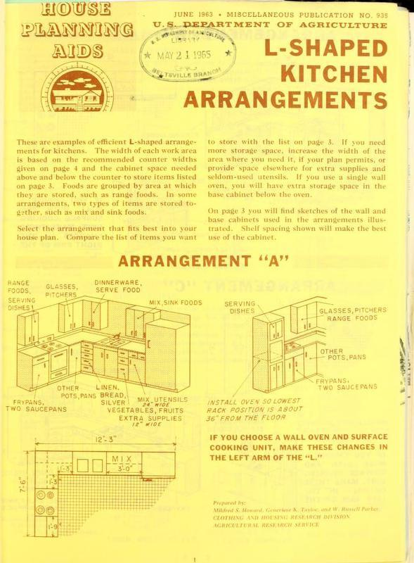 L-shaped Kitchen Arrangements