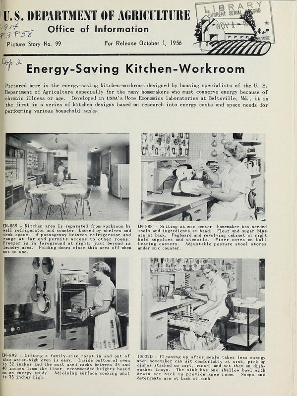 Energy-Saving Kitchen-Workroom