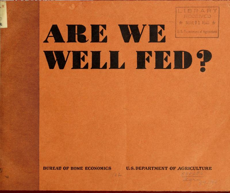 Are We Well Fed Cover.jpg