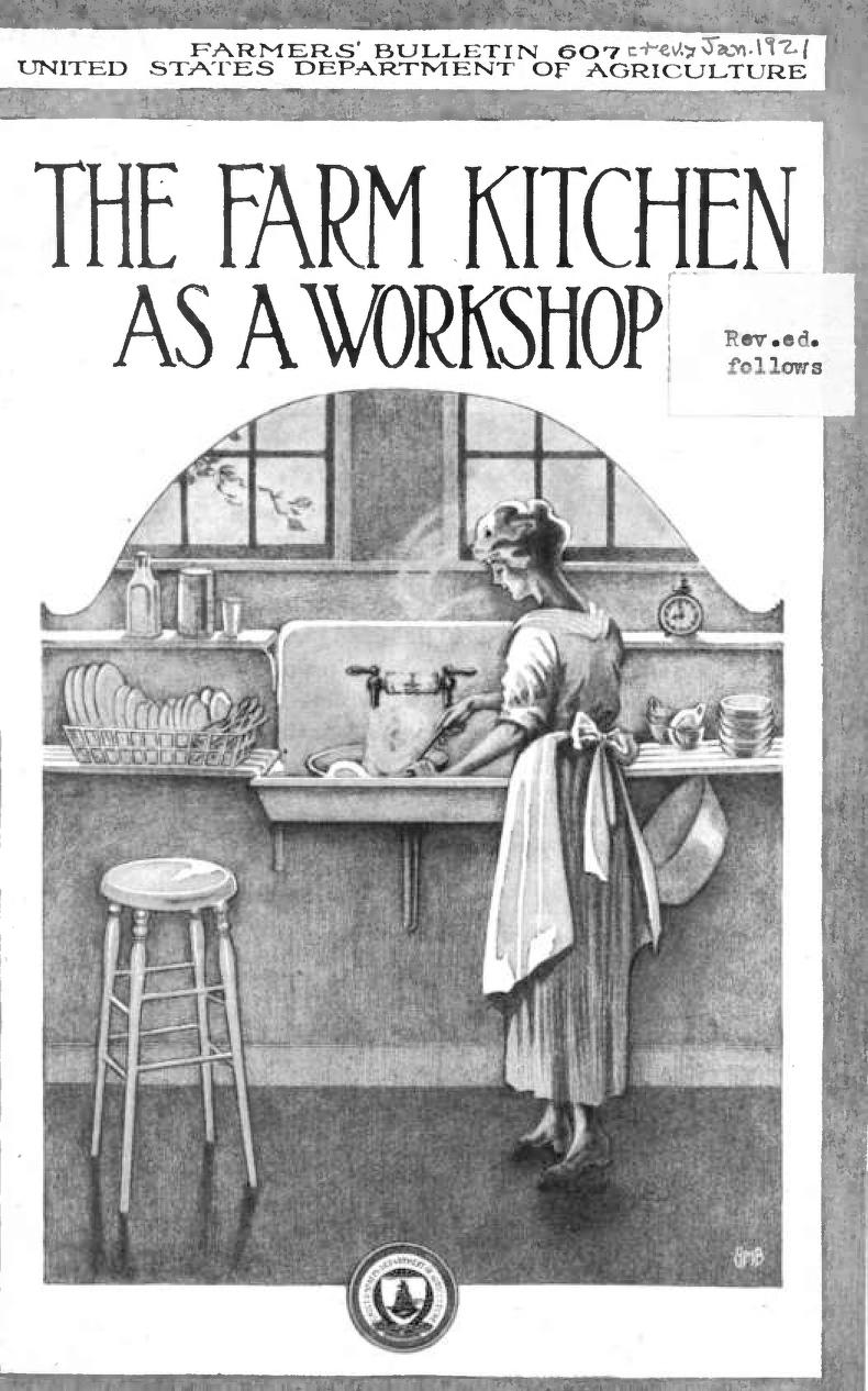Apron Strings and Kitchen Sinks | The Farm Kitchen As A Workshop