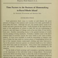 Time Factors in the Business of Homemaking in Rural Rhode Island Introduction.jpg