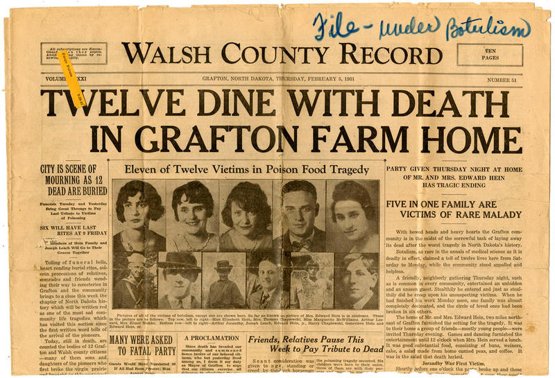 Twelve Dine With Death In Grafton Farm Home