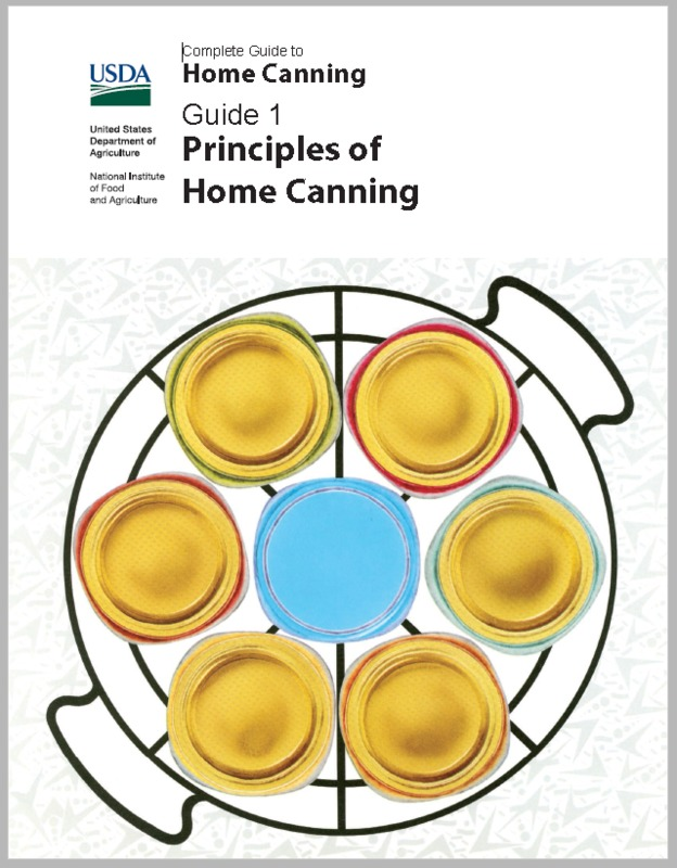 USDA Complete Guide to Home Canning, 2015 revision
