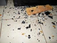 The Case of the Oven Door Shrapnel
