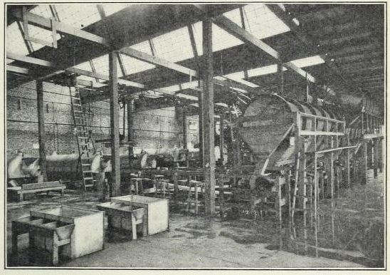 commercial cannery, circa 1909