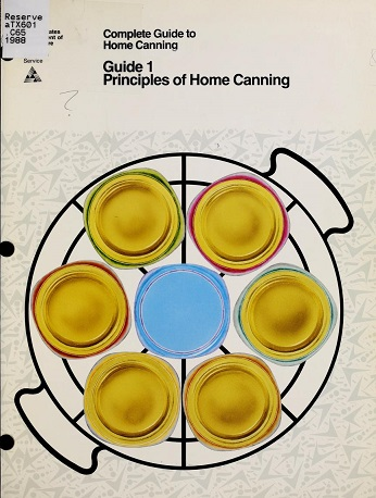 Cover of Complete Guide to Home Canning