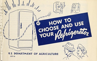cover of How to Choose and Use Your Refrigerator (1946)