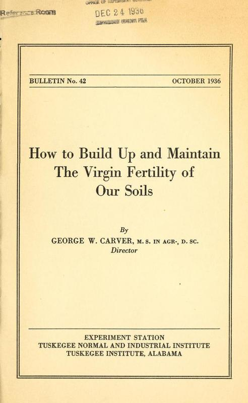 How to Build Up and Maintain the Virgin Fertility of Our Soils