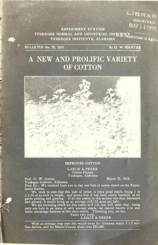 A New and Prolific Variety of Cotton
