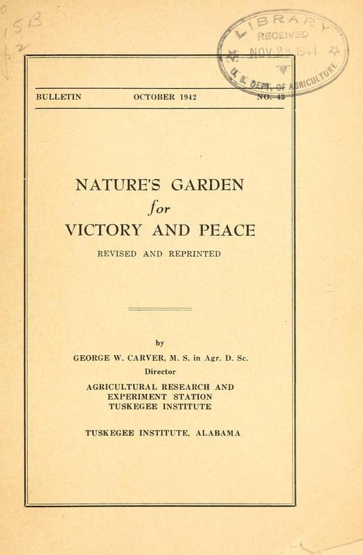 Nature's Garden for Victory and Peace