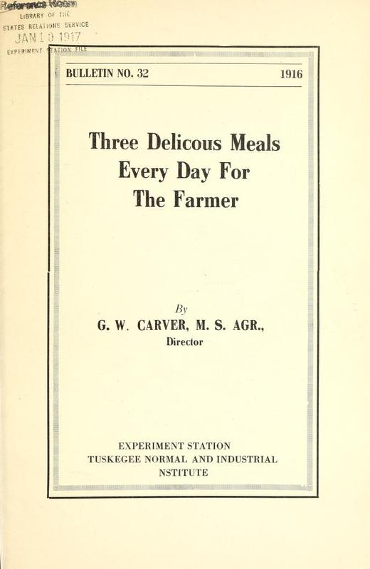 Three Delicous [<em>sic</em>] Meals Every Day for the Farmer