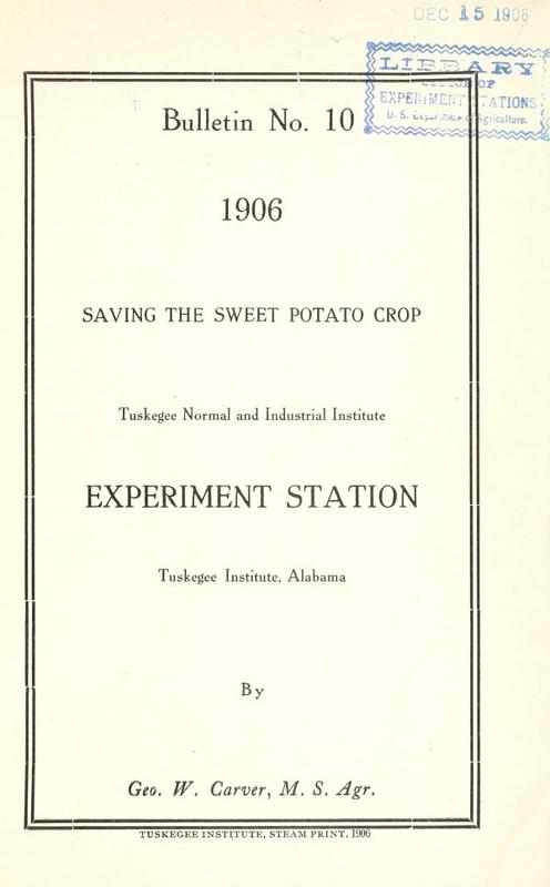 Cover of Saving the Sweet Potato Crop