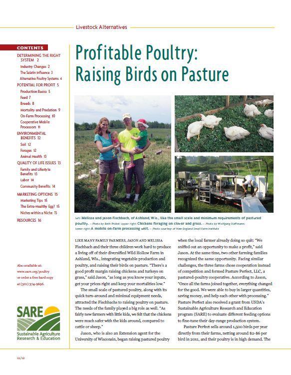 Profitable Poultry: Raising Birds on Pasture