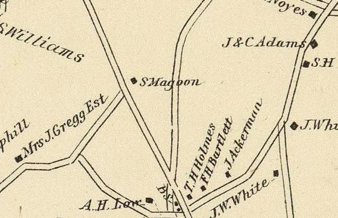 Derry, Rockingham Co. Seabrook, Rockingham Co. Rye, Rockingham Co. (with) Star Island, Gosport Ward, town of Rye.