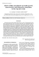 Effects of litter amendments on broiler growth characteristics and Salmonella colonization in the crop and cecum.jpg