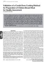 Validation of a Combi Oven Cooking Method for Preparation of Chicken Breast Meat for Quality Assessment.jpg