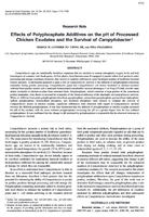 Effects of Polyphosphate Additives on the pH of Processed Chicken Exudates and the Survival of Campylobacter.jpg