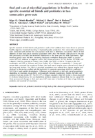 Ileal and cecal microbial populations in broilers given specific essential oil blends and probiotics in two consecutive grow-outs.jpg
