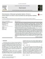 Determination of thermal inactivation kinetics of Listeria monocytogenes in chicken meats by isothermal and dynamic methods.jpg
