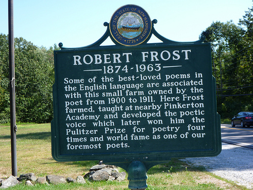 Robert Frost House - Sign by grongar, on Flickr