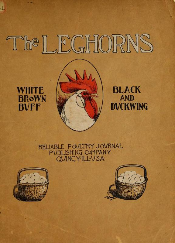 The Leghorns: Brown, White, Black, Buff and Duckwing
