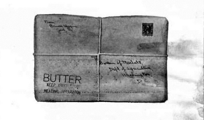 Marketing Butter and Cheese by Parcel Post