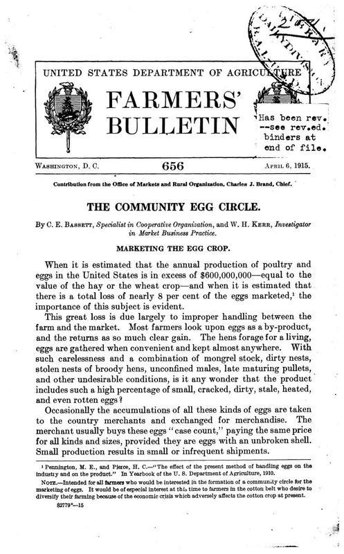 The Community Egg Circle