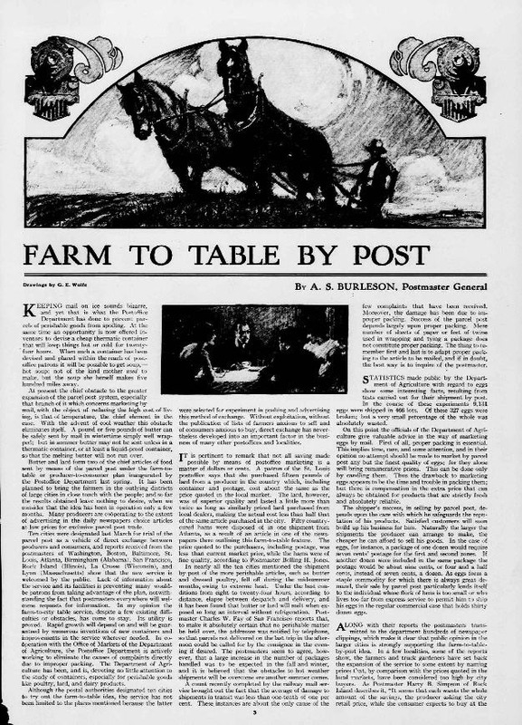 Farm to Table by Post