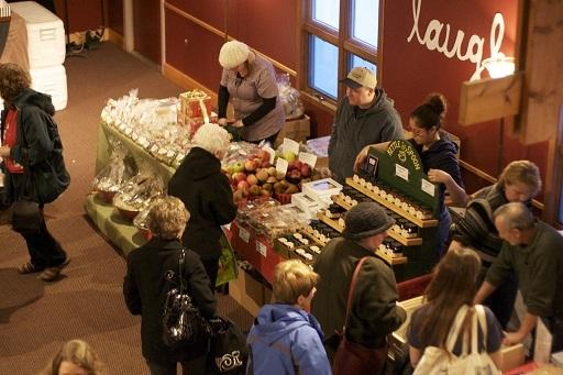 A winter market in Rochester, NY, 2011.jpg