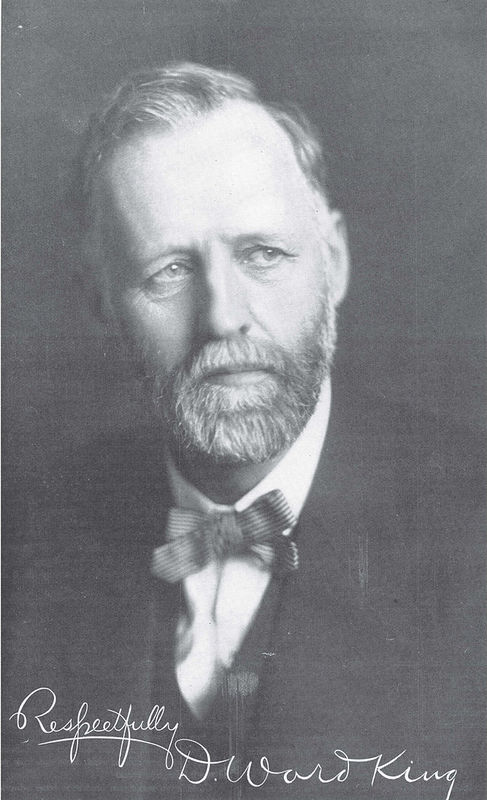 Portrait of David Ward King, Inventor of the King Road Drag