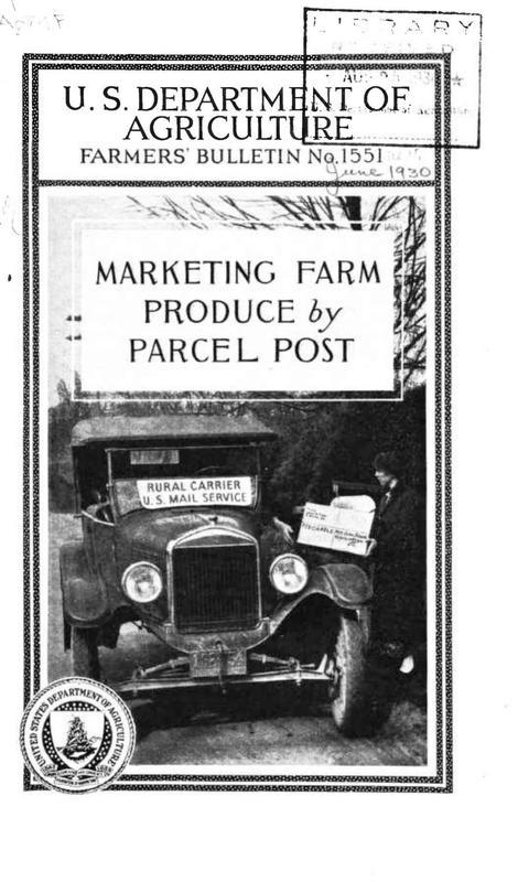 Marketing Farm Produce by Parcel Post Cover.jpg