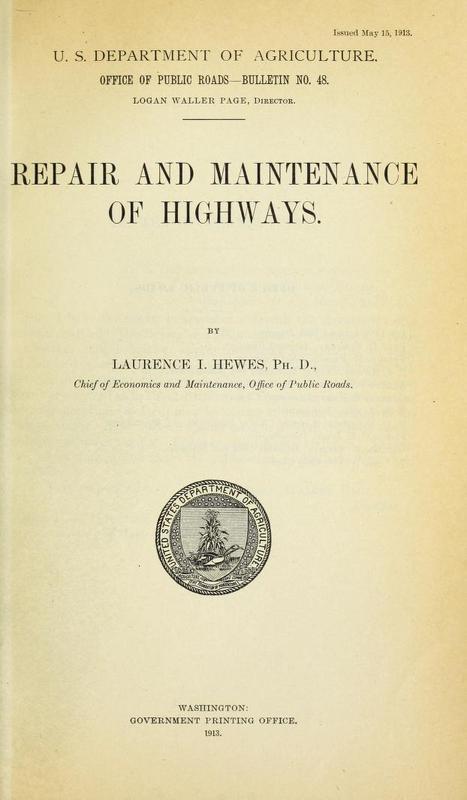 Repair and Maintenance of Highways Cover.jpg