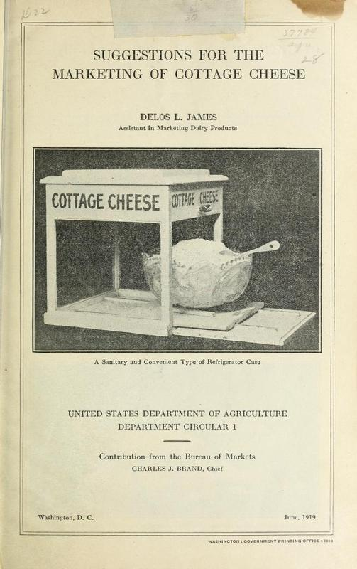 Suggestions For The Marketing of Cottage Cheese Cover.jpg