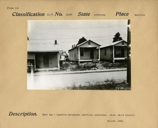 Shot Gun House Melville, Louisiana