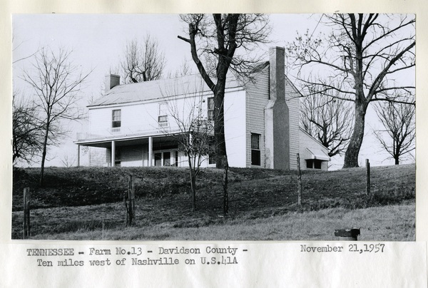 Tennessee - Farm No. 13-Davidson County