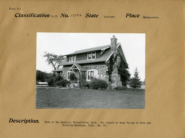 Habbardston, Michigan Home