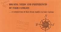 Cover of Housing Needs and Preferences of Farm Families.