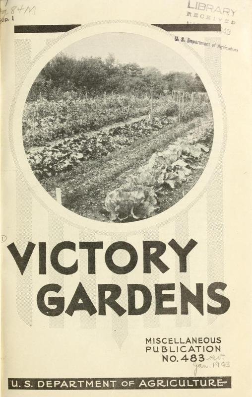 victory gardens 1943 - The Victory Garden