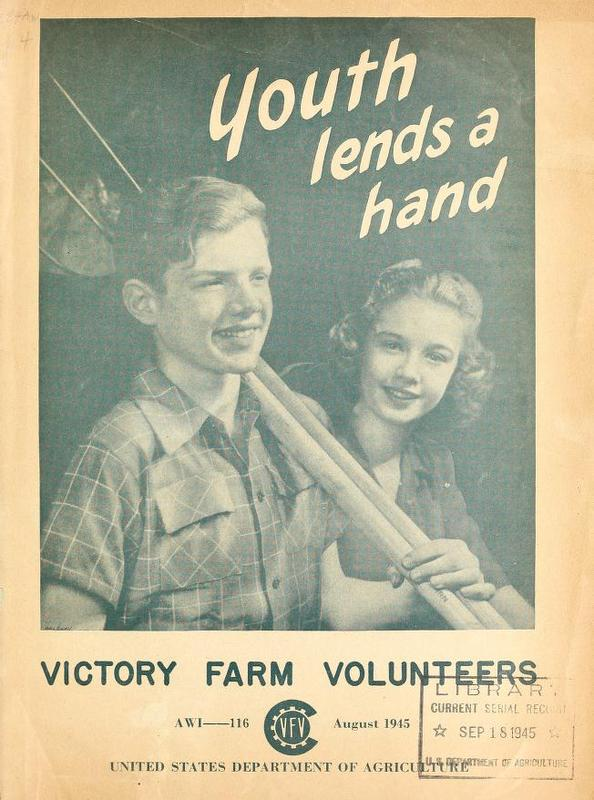 Youth Lends A Hand: Victory Farm Volunteer