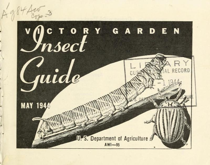 Victory Garden Insect Guide