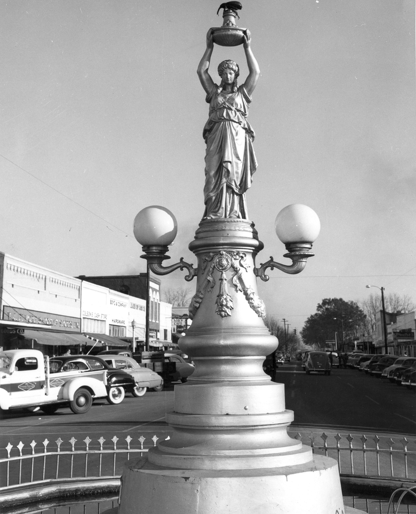 The Boll Weevil Monument, Enterprise, Alabama.