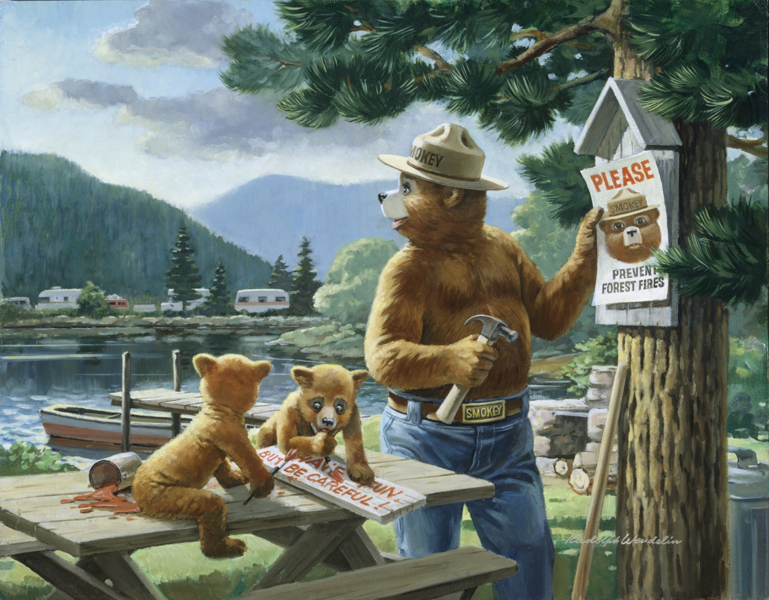 Rudy Wendelin Gallery 183 Smokey Bear 183 Special Collections