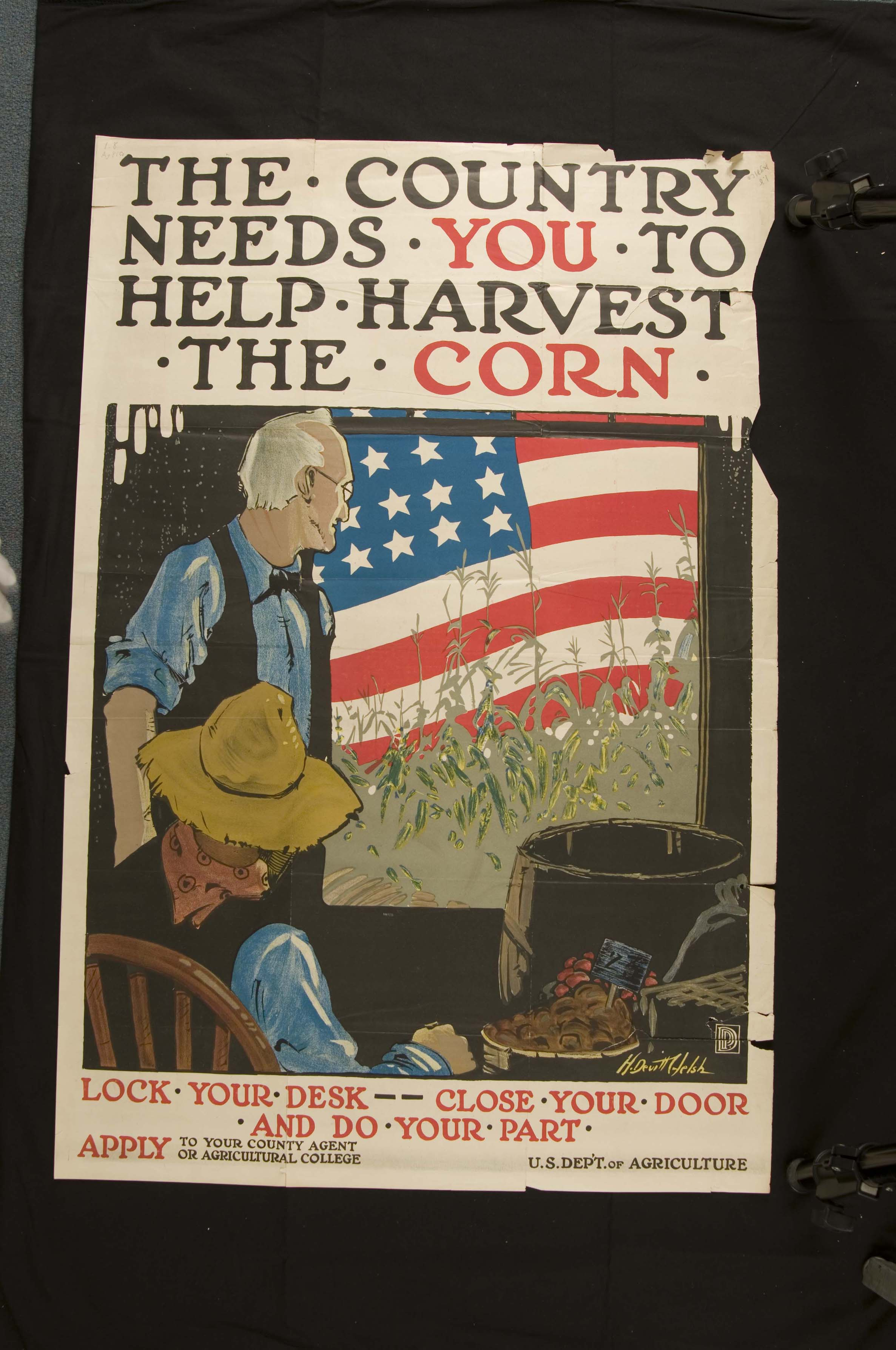 The country needs you to help harvest the corn special for America s second harvest
